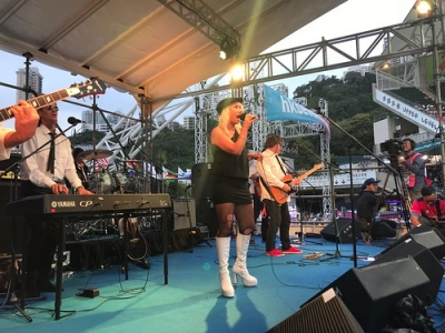 """New Wave Tribute - Blondie in Hong Kong 2018 • <a style=""""font-size:0.8em;"""" href=""""http://www.flickr.com/photos/66500283@N05/43387312402/"""" target=""""_blank"""">View on Flickr</a>"""