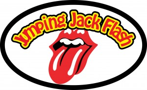 Jumping Jack Flash Logo - Rolling Stones Tribute Show Band, Perth Australia