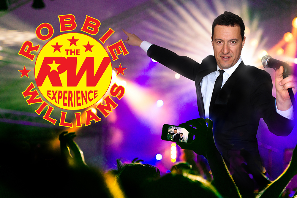 Robbie Williams Experience Tribute Show Perth Australia