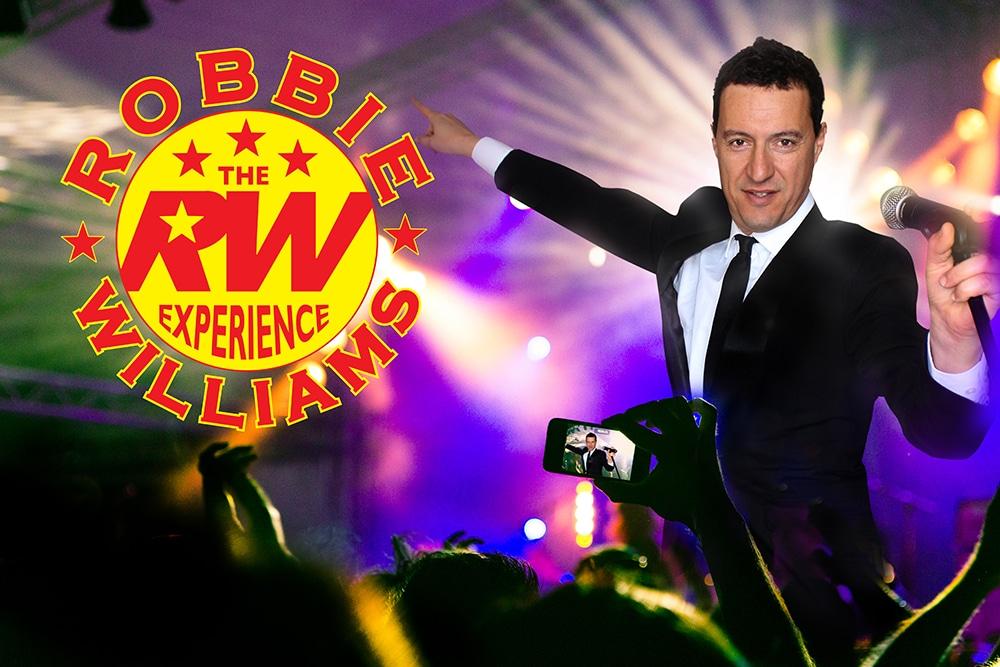 Robbie Williams Experience Tribute Show Perth Australia