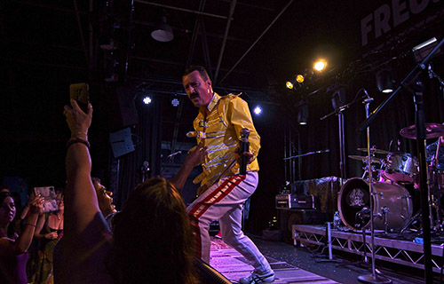 Freddie Mercury & Queen Tribute show band from Perth Australia